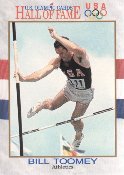 1991 Impel U.S. Olympic Hall of Fame #23 Bill Toomey
