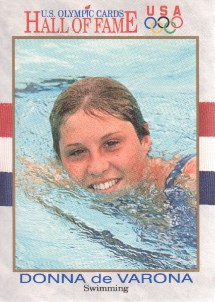 1991 Impel U.S. Olympic Hall of Fame #37 Donna de Varona