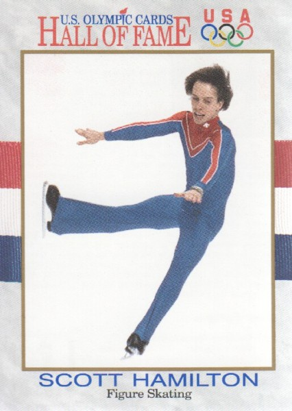 1991 Impel U.S. Olympic Hall of Fame #46 Scott Hamilton