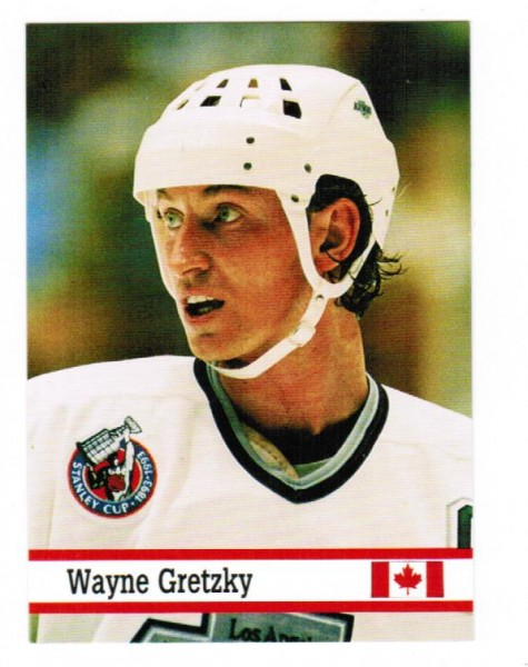 1993 Fax Pax World of Sport #25 Wayne Gretzky
