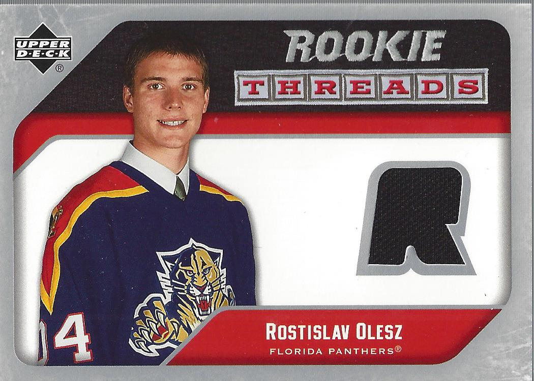 2005-06 Upper Deck Rookie Threads #RTRO Rostislav Olesz