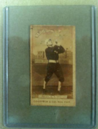 1887-90 Old Judge N172 #502 Billy Sunday