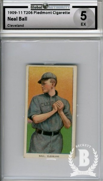 1909-11 T206 #16 Neal Ball Cleveland