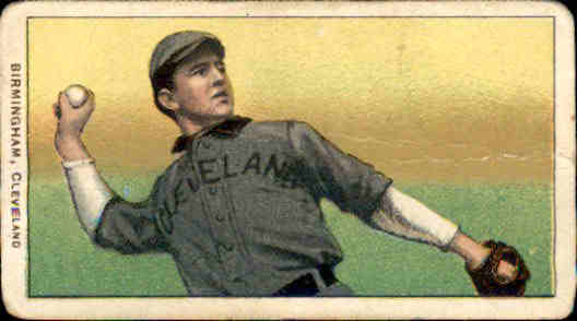 1909-11 T206 #41 Joe Birmingham/Horizontal