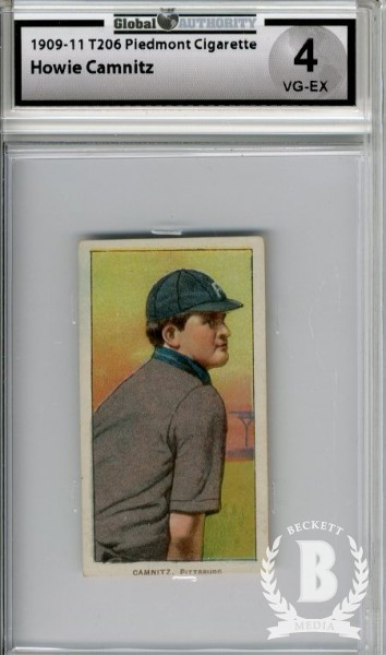1909-11 T206 #68 Howie Camnitz Arm at Side