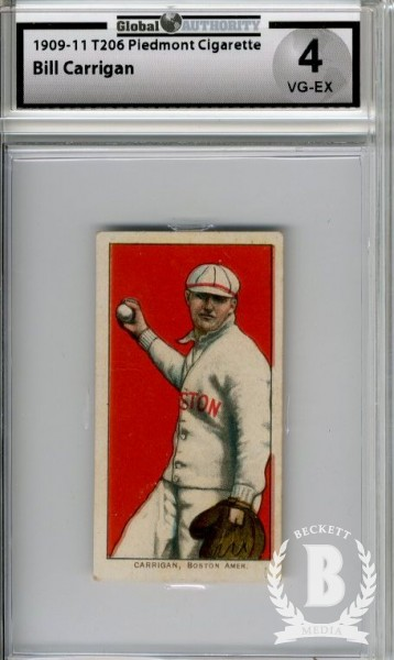 1909-11 T206 #74 Bill Carrigan