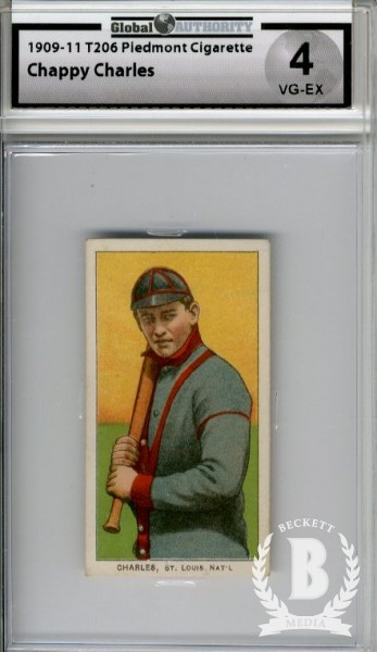 1909-11 T206 #81 Chappie Charles