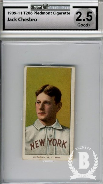 1909-11 T206 #87 Jack Chesbro