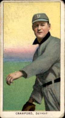 1909-11 T206 #110 Sam Crawford/Throwing