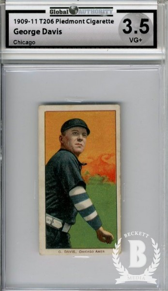 1909-11 T206 #119 George Davis