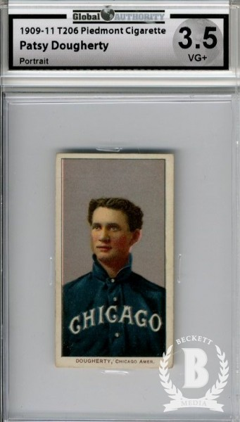 1909-11 T206 #143 Patsy Dougherty Portrait