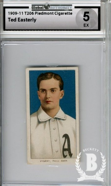 1909-11 T206 #158 Ted Easterly