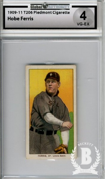 1909-11 T206 #171 Hobe Ferris