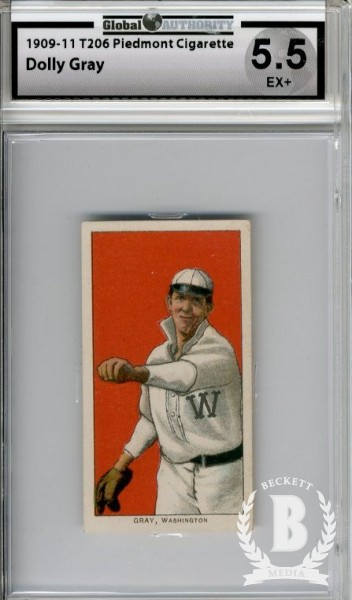 1909-11 T206 #193 Dolly Gray