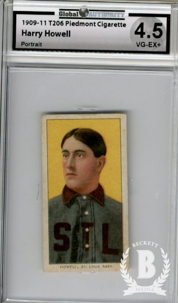 1909-11 T206 #223 Harry Howell Portrait