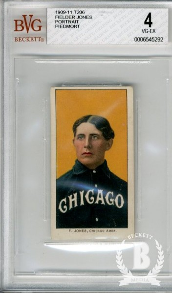 1909-11 T206 #239 Fielder Jones Portrait