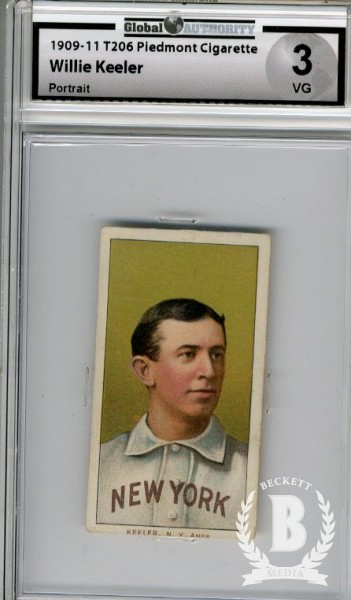 1909-11 T206 #247 Willie Keeler Portrait