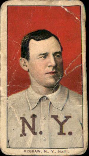 1909-11 T206 #322 John McGraw/Portrait No Cap