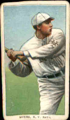 1909-11 T206 #334 Chief Myers/Batting (Meyers)