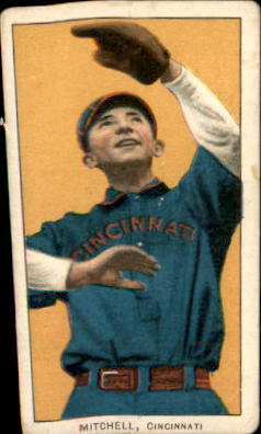 1909-11 T206 #341 Mike Mitchell/Cincinnati