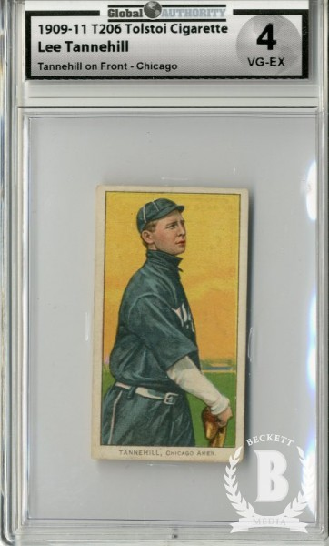 1909-11 T206 #480 Lee Tannehill Chicago (Tannehill)