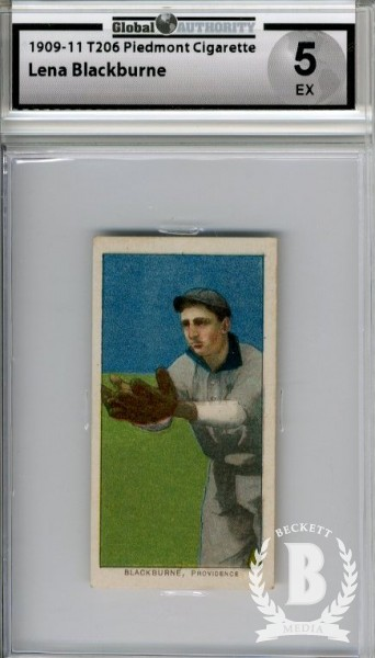 1909-11 T206 #42 Lena Blackburne ML
