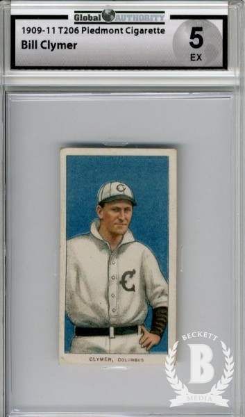 1909-11 T206 #94 Bill Clymer ML