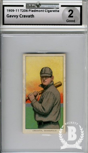1909-11 T206 #109 Gavvy Cravath ML