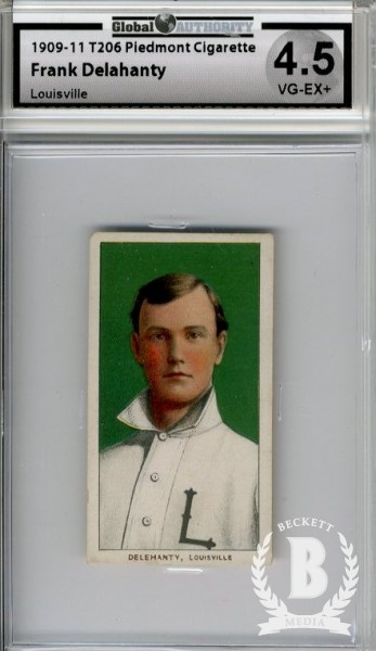 1909-11 T206 #122 Frank Delehanty (Delahanty) ML
