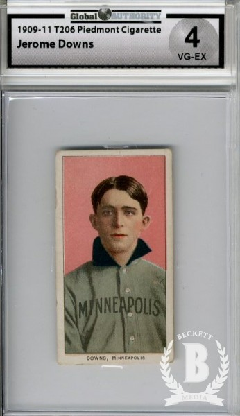1909-11 T206 #146 Jerry Downs ML