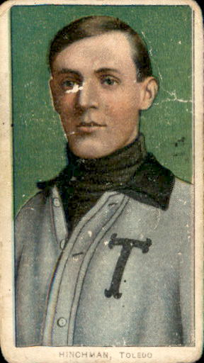 1909-11 T206 #214 Harry Hinchman/Toledo ML