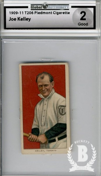 1909-11 T206 #249 Joe Kelley ML