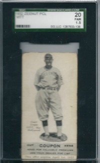 1932 Zeenut #17 Oscar Vitt MG front image
