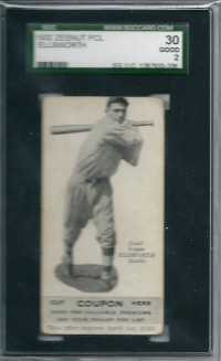 1932 Zeenut #114 Floyd Ellsworth front image