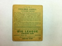 1933 Goudey #26 Bill Cissell RC back image