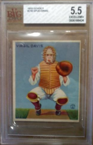 1933 Goudey #210 Spud Davis RC