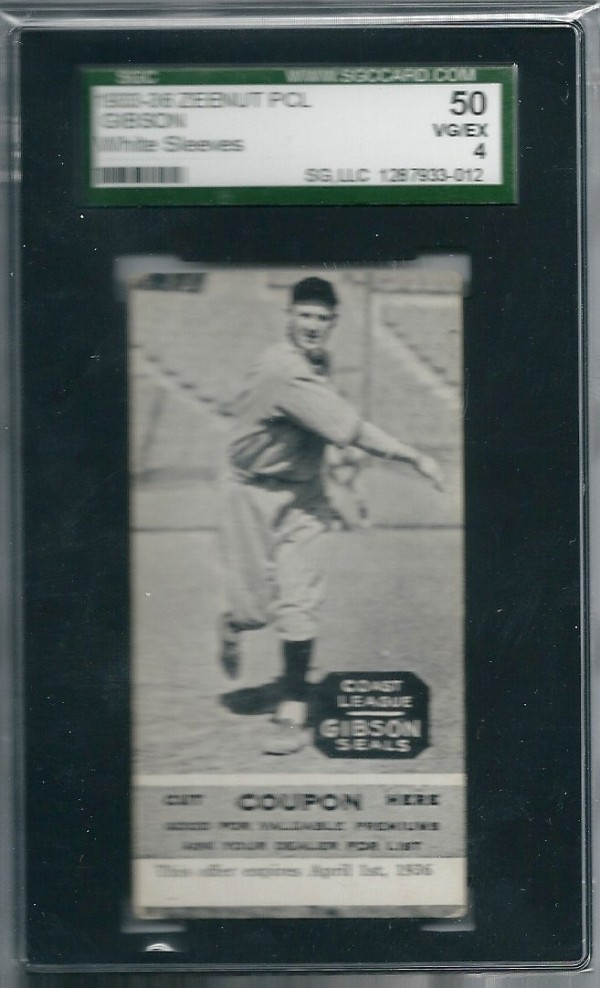 1933-36 Zeenut PCL #116 Sam Gibson