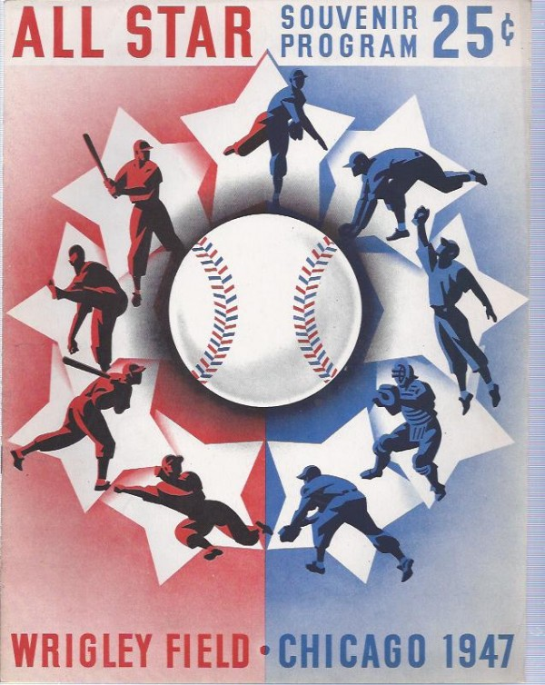 1933-99 All-Star Game Programs #1947 Chicago