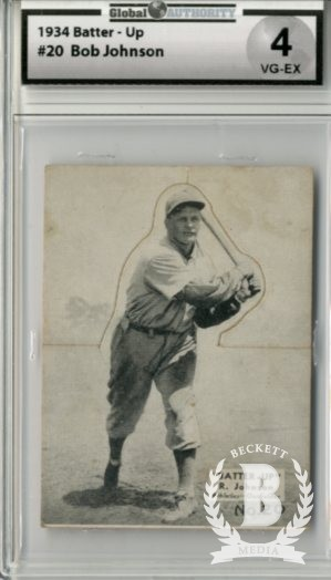 1934-36 Batter-Up #20 Bob Johnson XRC