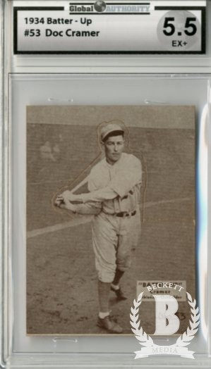 1934-36 Batter-Up #53 Roger Cramer XRC