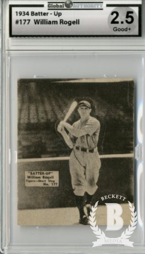 1934-36 Batter-Up #177 Billy Rogell