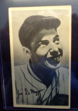 1936 Goudey Wide Pen Premiums R314 #C6 Joe DiMaggio
