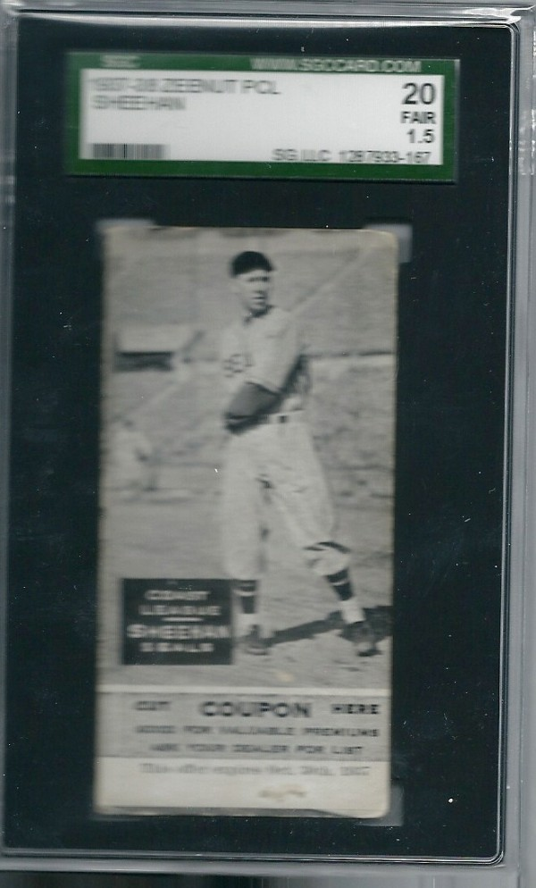 1937-38 Zeenut #41 Ken Sheehan