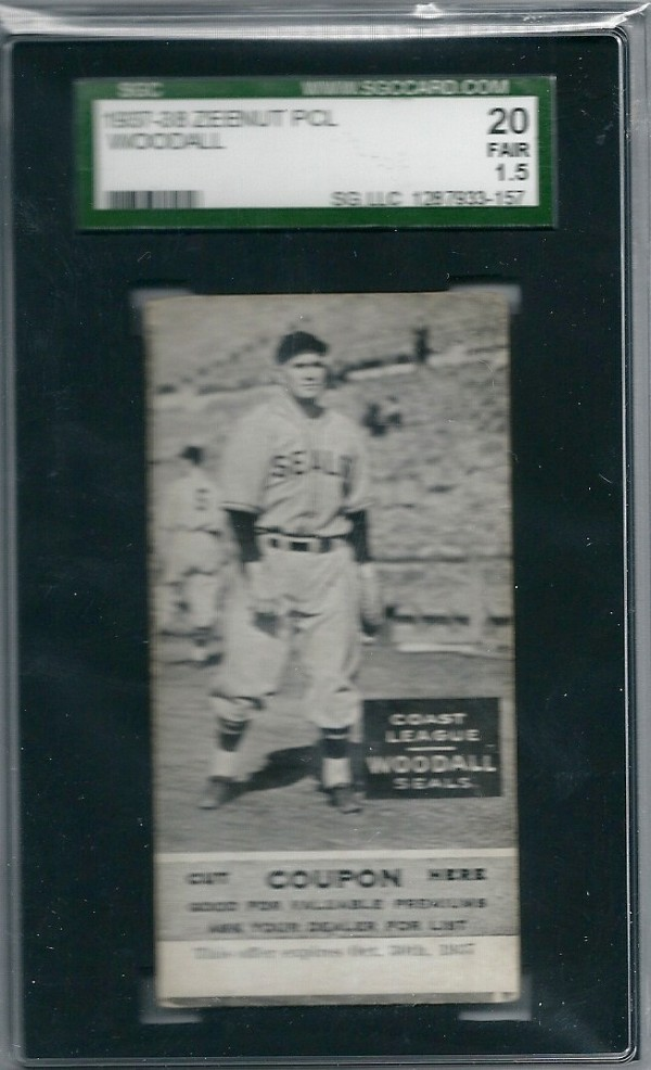 1937-38 Zeenut #94 Larry Woodall