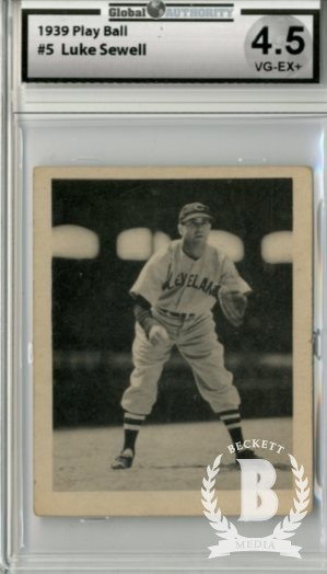1939 Play Ball #5 Luke Sewell