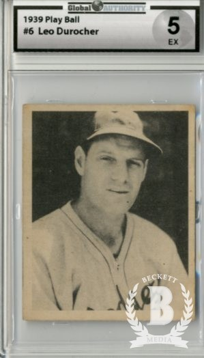 1939 Play Ball #6 Leo Durocher
