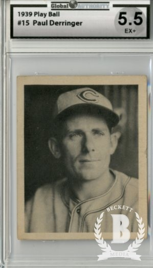1939 Play Ball #15 Paul Derringer