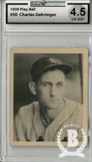 1939 Play Ball #50 Charley Gehringer