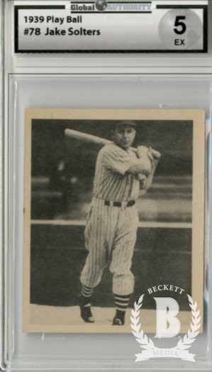 1939 Play Ball #78 Julius Solters