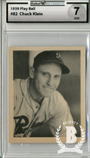 1939 Play Ball #82 Chuck Klein